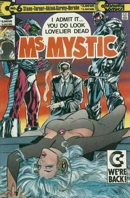 Ms. Mystic (1987-1992) (Grapa) #6