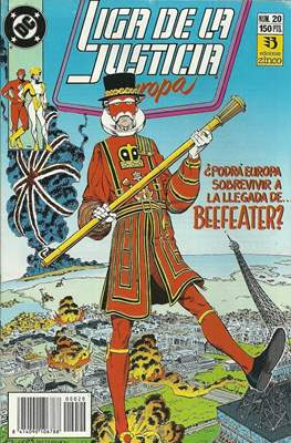 Liga de la Justicia Europa (1989-1992) (Grapa) #20