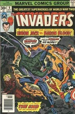 The Invaders (Comic Book. 1975 - 1979) #9