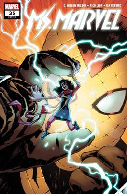 Ms. Marvel (Vol. 4 2015-...) (Comic book) #35