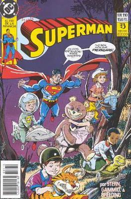 Superman Vol. 2 (1987-1993). El hombre de acero / Superman (Grapa 36 pp) #110