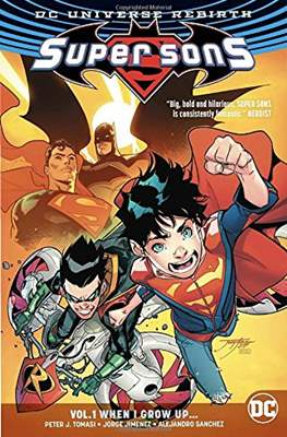 Super Sons (Softcover 128-144 pp) #1