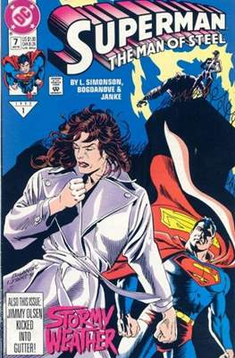 Superman: The Man of Steel (Comic book) #7