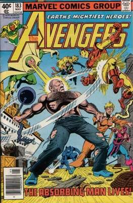 The Avengers Vol. 1 (1963-1996) (Grapa) #183