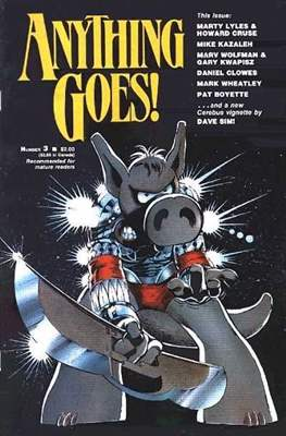 Anything Goes! (Comic Book. 1986 - 1987) #3
