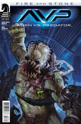Alien vs. Predator: Fire and Stone (Comic Book) #3