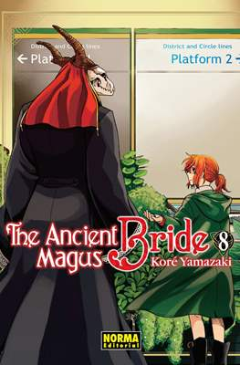The Ancient Magus Bride (Rústica) #8