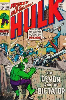 The Incredible Hulk Vol.1 (Saddle-stitched. 1962-1999) #133
