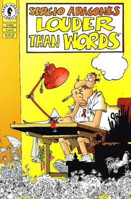 Sergio Aragonés Louder than Words (Miniserie) #3