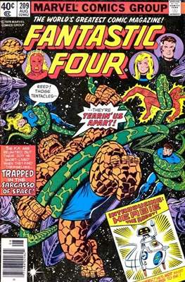 Fantastic Four Vol. 1 (1961-1996) (saddle-stitched) #209
