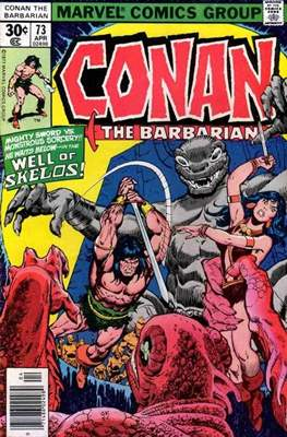 Conan The Barbarian (1970-1993) (Comic Book 32 pp) #73