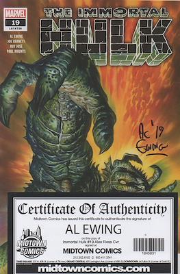 The Immortal Hulk (2018- Variant Cover) (Comic Book) #19.2