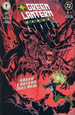 Green Lantern versus Aliens (Grapa) #4