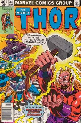 Journey into Mystery / Thor Vol 1 (Comic Book) #286