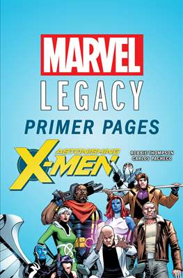 Astonishing X-Men: Marvel Legacy Primer Pages