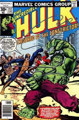 The Incredible Hulk Vol. 1 (1962-1999) (Comic Book) #212