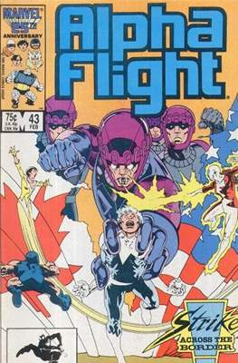 Alpha Flight Vol. 1 (1983-1994) (Comic Book) #43