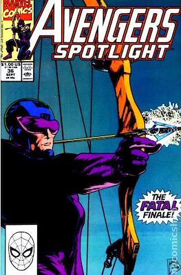 Solo Avengers / Avengers Spotlight (Comic book) #36