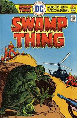 Swamp Thing (1972 1st Series) (Comic Book. 1972 - 1976) #22