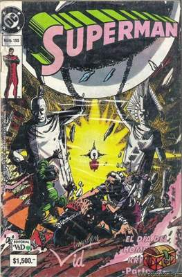 Supermán (1986-2001) (Grapa) #155