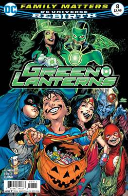 Green Lanterns Vol. 1 (2016-2018) (Comic-book) #8