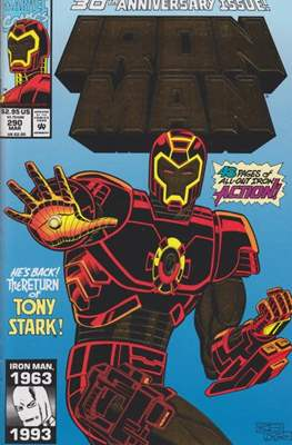 Iron Man Vol. 1 (1968-1996) (Comic book) #290