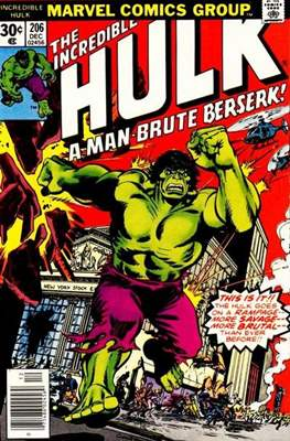 The Incredible Hulk Vol. 1 (1962-1999) (Comic Book) #206