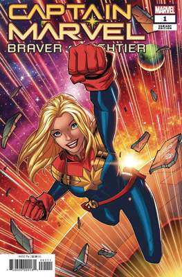 Captain Marvel: Braver & Mightier (Variant Covers)