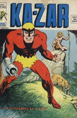 Ka-Zar (1974-1977) (Rústica 40 pp) #8