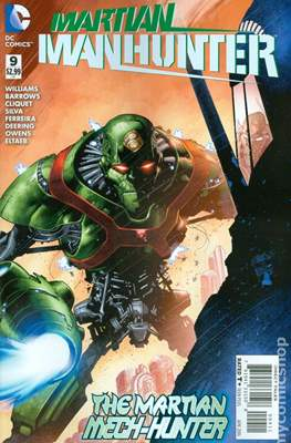 Martian Manhunter Vol 4 (Comic book) #9