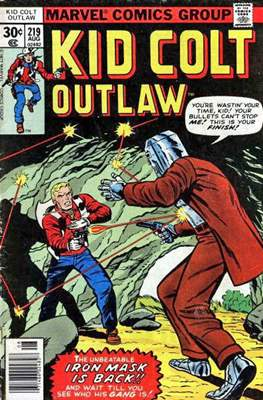 Kid Colt Outlaw Vol 1 #219