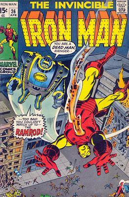 Iron Man Vol. 1 (1968-1996) (Comic book) #36