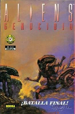 Aliens: Genocidio (Grapa 36 pp) #4