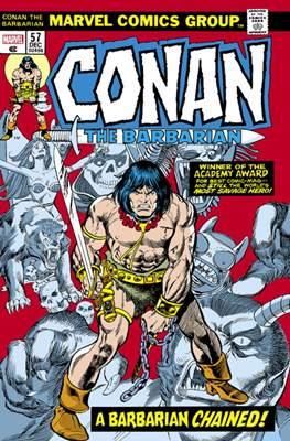 Conan The Barbarian: The Original Marvel Years (Hardcover 720-856-824 pp) #3