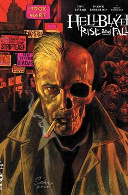 Hellblazer: Rise and Fall (Variant Cover) #3