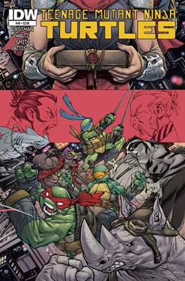 Teenage Mutant Ninja Turtles (2011-...) #49