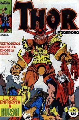 Thor, el Poderoso (1983-1987) #45