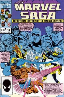 Marvel Saga (Comic-book.) #14
