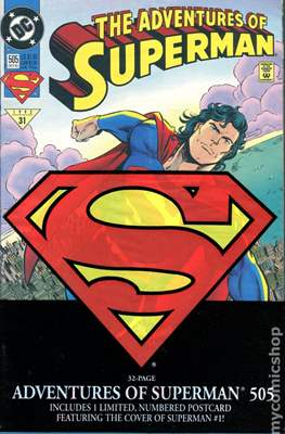 Superman Vol. 1 / Adventures of Superman Vol. 1 (1939-2011 Variant Cover) (Comic Book) #505.1