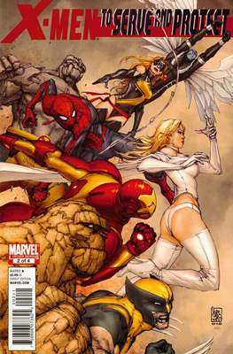 X-Men: To Serve and Protect (Comic-Book) #2