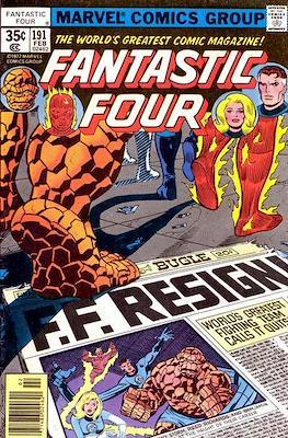 Fantastic Four Vol. 1 (1961-1996) (saddle-stitched) #191