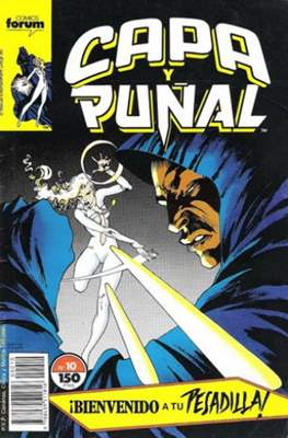 Capa y Puñal Vol. 1 / Marvel Two in One: Capa y Puñal & La Cosa (1989-1991) (Grapa 24-64 pp) #10