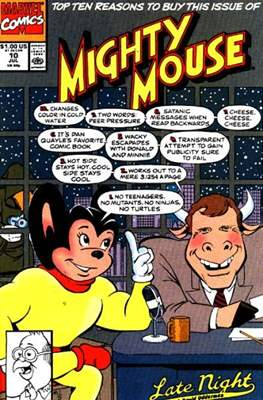 Mighty Mouse (Comic-book.) #10