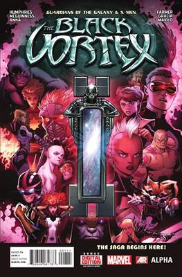 Guardians of the Galaxy & X-Men: Black Vortex Alpha