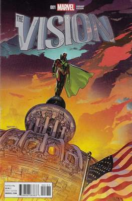 The Vision Vol. 3 (Variant Cover) (Comic Book) #1.1