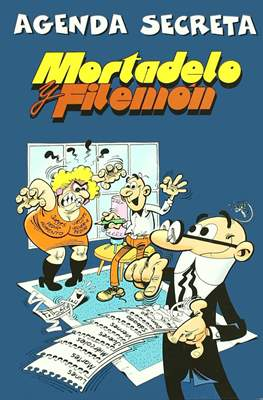 Agenda secreta Mortadelo y Filemón