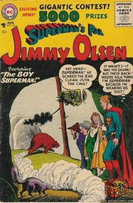 Superman's Pal, Jimmy Olsen / The Superman Family (Comic Book) #14