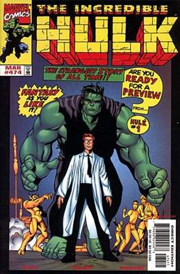 The Incredible Hulk Vol.1 (Saddle-stitched. 1962-1999) #474
