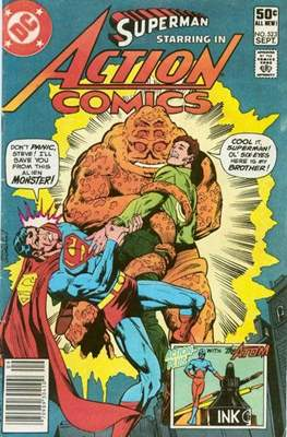 Action Comics Vol. 1 (1938-2011; 2016-) (Comic Book) #523