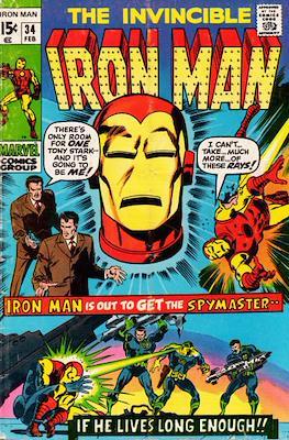 Iron Man Vol. 1 (1968-1996) (Comic book) #34